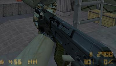 Unscoped SG552