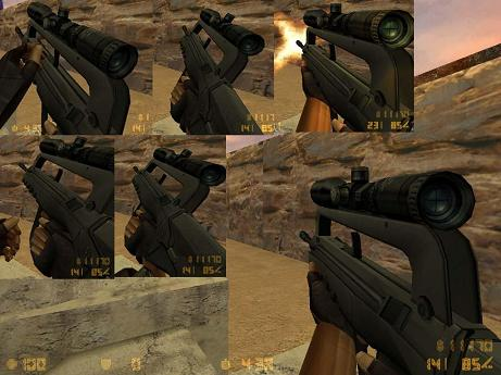 Famas Scoped